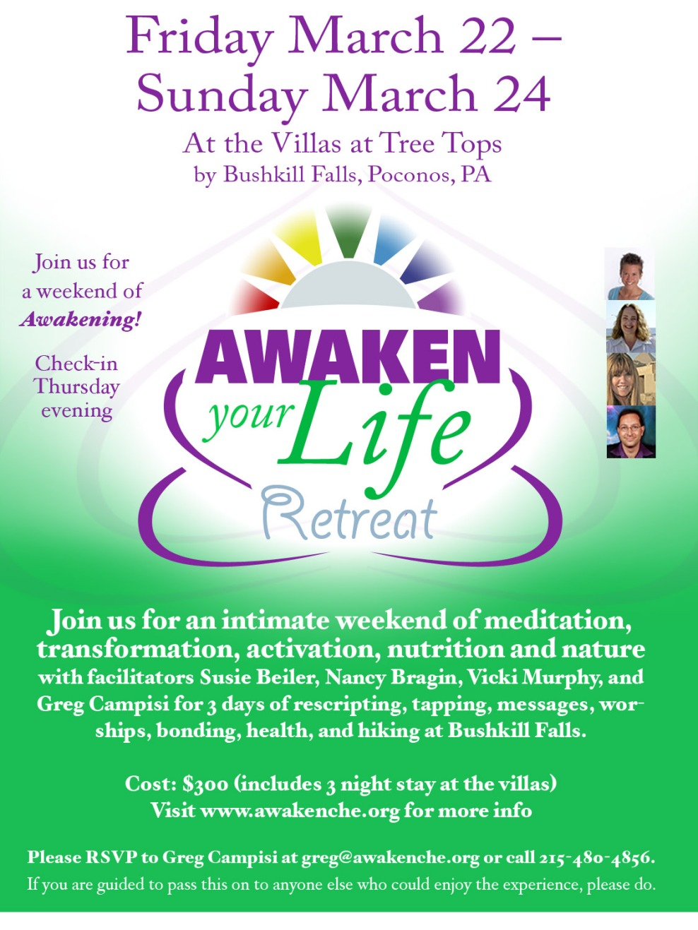 Awaken Your Life Retreat