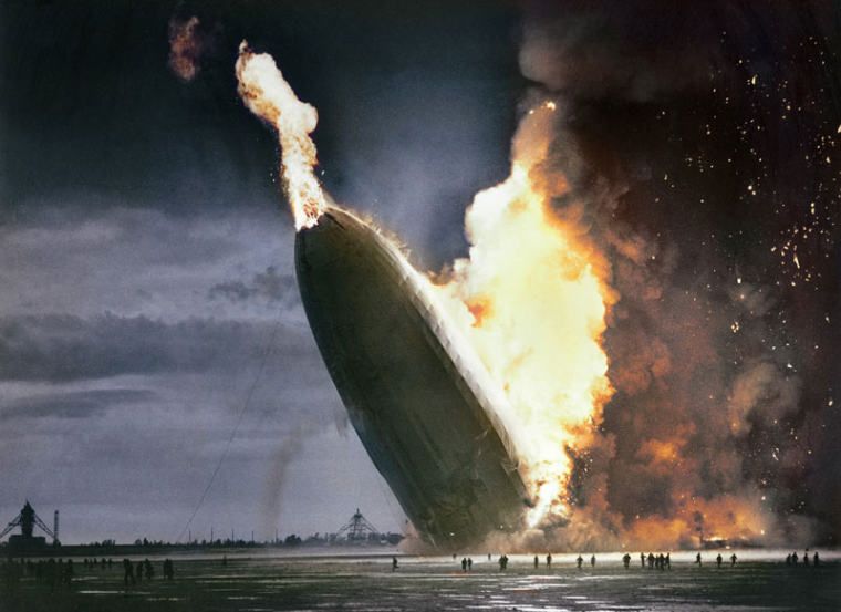 02 - Hindenburg Disaster  May 6 1937