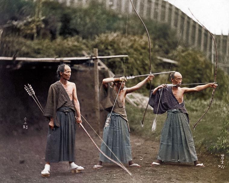 03 - Japanese Archers circa 1860