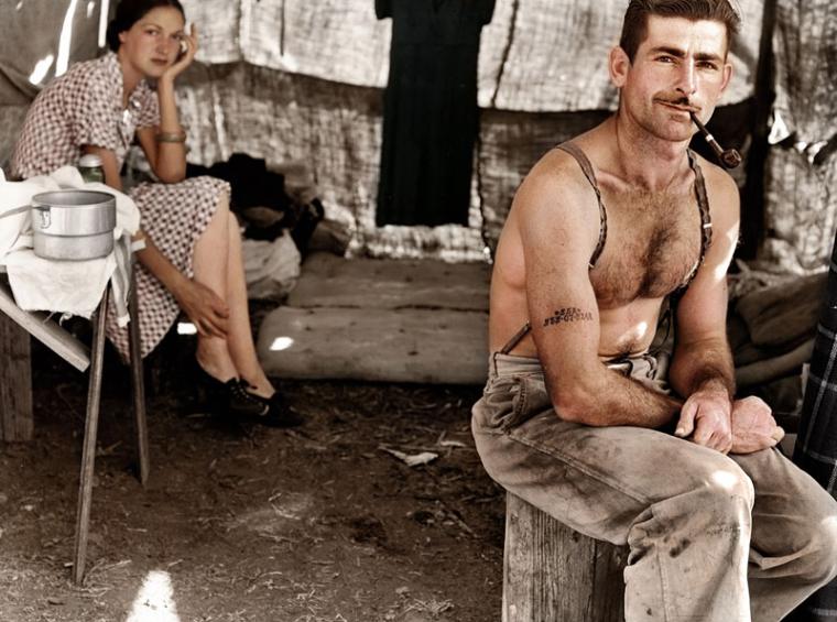 05 - Unemployed lumber worker circa 1939
