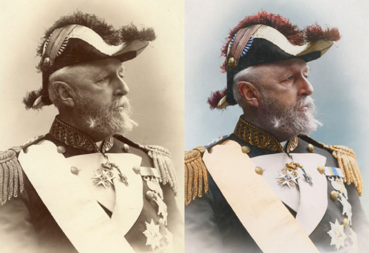 11 - Oscar II King of Sweden and Norway 1880
