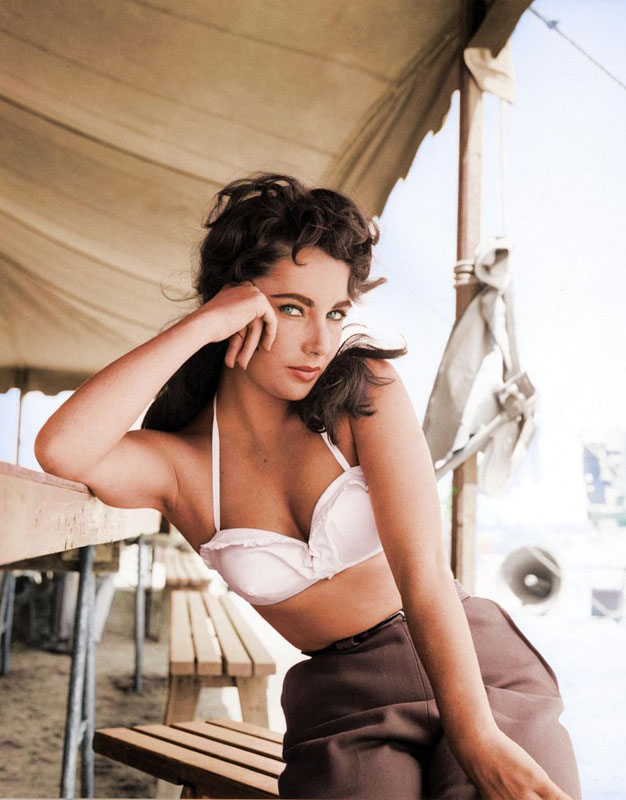 15 - Elizabeth Taylor  Giant 1956 film