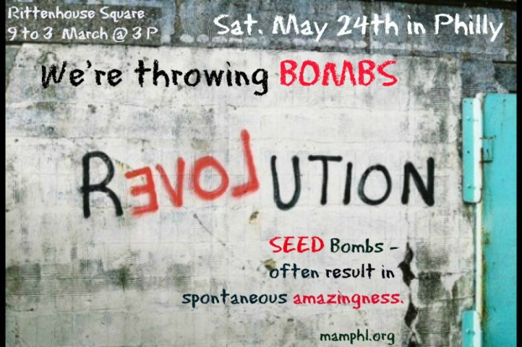Saturday May 24th  - we're throwing bombs in Philly.