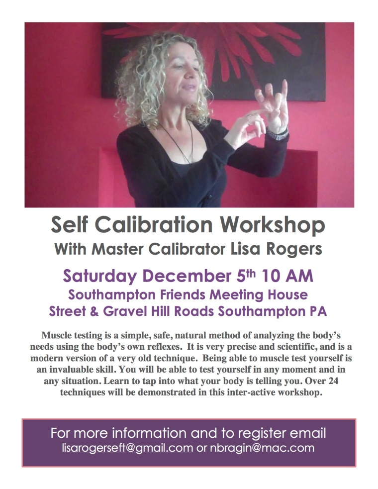 Calibration Workshop flyer revised