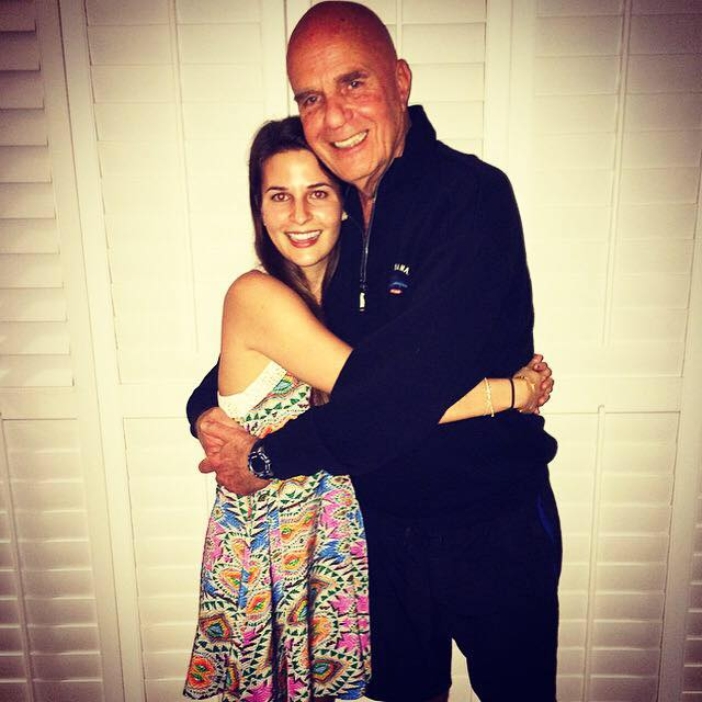 Dr. Wayne Dyer and his daughter Saje