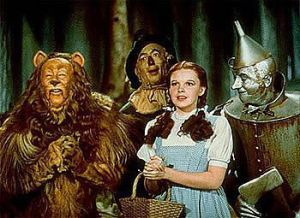 Dorothy-Scarecrow-Tin-Man-and-the-cowardly-Lion-the-wizard-of-oz-3840422-350-255